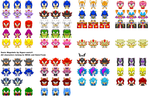 SonicMugshotsSprites :updated: by LucarioShirona