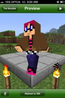 My minecraft skin by Hottspinner