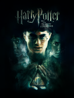 Deathly Hallows fanmade poster by WendyTheStoryteller