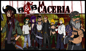 Blood and Boobs La Caceria by DaGreatVincE