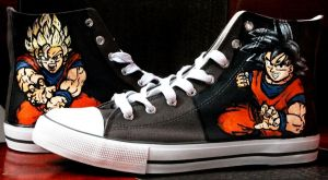 Dragon Ball shoes by Gohush