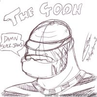 Bar Sketch - The Goon by The-Seacow