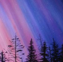 Yukon Skies Dabble by GamerMiki