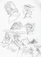 Shield brother sketches by acidaran