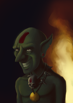 Redesign, goblin do jogo Clash of Clans. by Maxmegapixel