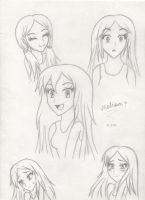 Me with Different Emotions by sonicxmelissa302