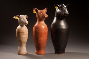 Canopic Urns by VandaLann