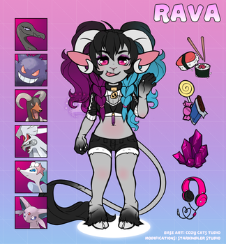 IT'S YA GOAT, RAVA by StarkindlerStudio