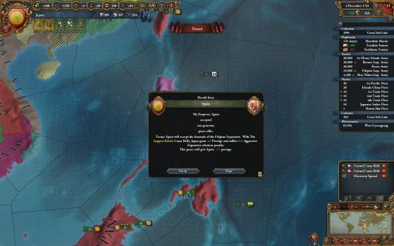 'Liberating' the Filipinos by Stratocracy