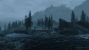 Screeenshot: TES5 Skyrim: Fort Amol Bridge by bakaprincess85