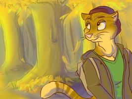 Fall is Here, Hear the Yell by TunnySaysIDK