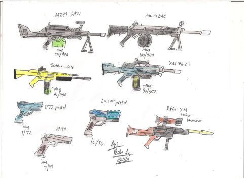 Weapons cache 5 by BlackKnife12