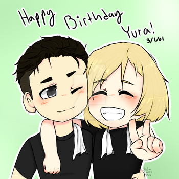 Happy Birthday Yura!!!!!! by Jada-chan456