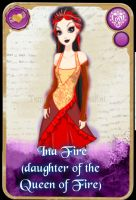 Ever After High: Ina Fire by KariaHearts56789