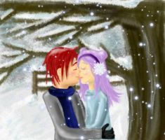 Winter Kiss by featherfire520