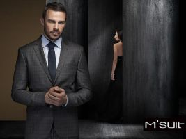 M suit advert campaign.. by SOOO