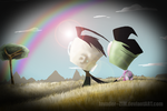 Somewhere Over The Rainbow by Invader--ZIM