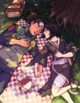 Iruka and Shizune in love under a tree by ComfortLove