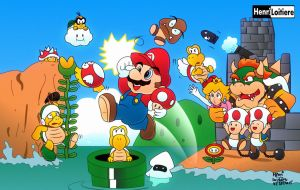 Super Mario Bros. by Mariohenri