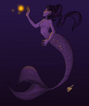 Deep sea mermaid  by megprs