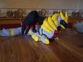 Giratina Plushie by Monster-House-Fan92