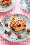 Raspberry cake by kupenska