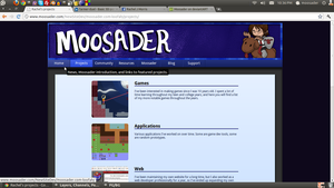 Moosader new design - Projects by Moosader