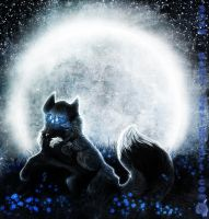 Collab: Blue Moonlight by Snow-Body