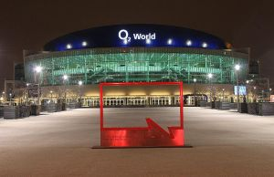 O2 World nachts in Berlin by MT-Photografien