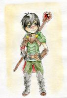Little Hawke-mage by Alivis