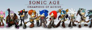 Sonic Age Companions Lineup by Zephyros-Phoenix