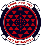 Old Meets New Red Squadron BSG by viperaviator