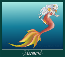 Mythical Creatures-Mermaid by BlueEyesBlackTears