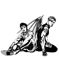 wiccan + hulkling by oneoffkritik