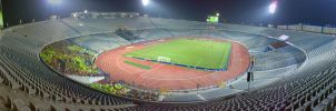 Cairo Stadium by micabdo
