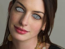 Anne Hathaway Hypnotized 2 by titas-andronicus