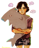 Sherlock: Sharkie by feyuca