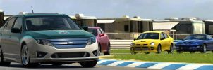 Forza Ford Fusion from front by CWRudy