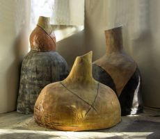 Three Modigliani Pots by Aconitum-Napellus