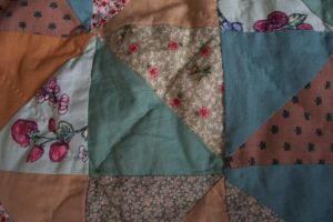 Piece of Quilt by paintresseye