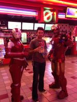 At the Iron Man 3 premier by Kolin-Roberts