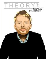 Thom Yorke of Radiohead by Makavelithedon
