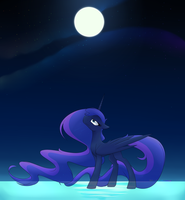 Spirit of the Night by AlphaAquilae