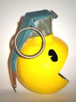 pac man grenade by peter-gronquist