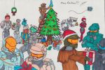 Merry Christmas with Halo ! ^^ by PostApoc-Gear42