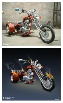bike retouch by BraveDesign