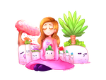 [Speedpaint] Youtubers: Marzia and Planters by ChloesImagination