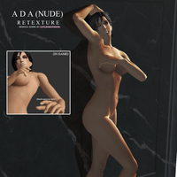 Ada Nude Retexture by Ms-Couture