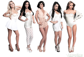 The Saturdays PNG by anime1991