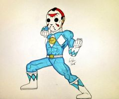 Blue Ranger Delirious. by SimpleTheSaviour